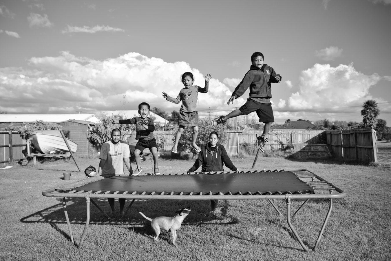 ihumatao, art exhibition, qiane, qiane matata-sipu, mangere arts centre, nga tohu o uenuku, pa life, auckland, maori, indigenous new zealand, black and white photography, auckland festival of photography